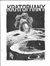 KRATOPHANY #4 - 1974 Sci-Fi fanzine Donald E Davis, Steve Stiles, Grant Canfield