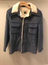 William Barry Sherpa Vintage Corduroy Jacket Size 36 Coat Excellent Condition