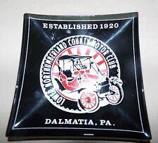 DALMATIA, PA LOWER NORTHUMBERLAND COUNTY MOTOR CLUB GLASS TRAY