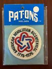 American Revolution 1776-1976 200-Year Bicentennial Patch Patriotic Independence