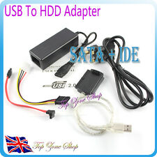 SATA IDE TO USB CONVERTER UNIVERSAL DRIVE ADAPTER CABLE