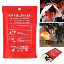 Fire Blanket 1 x 1 Meter Fire Blanket Fiber Glass House Caravan Campers hot sell