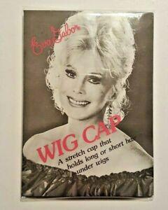 Eva Gabor Wig Cap Package Open Glam 70s 80s Prevents Wig Slippage Vintage
