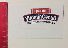 Aufkleber/Sticker: Granini - Vitamin Genuß Multivitamin-Bonbons (28051632)
