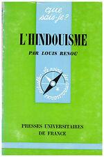 RENOU Louis - L'HINDOUISME - 1966