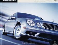 2004 Mercedes Benz AMG 32-page BIG Brochure Catalog  E55 C32 S55 SL55 G55 CL55