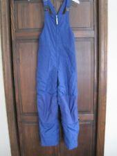 Lands End Kids 12 blue ski pants snow bibs
