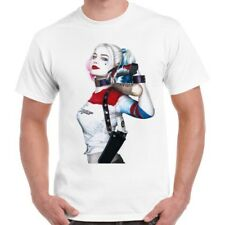 Suicide Squad Harley Quinn Cool Retro T Shirt 2255
