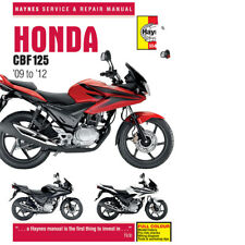5540 Honda CBF125 2009 > Haynes Workshop Service Manual