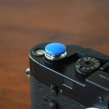 Blue Standard Large Soft Release Button for Leica M3 M4 M6 MP M8 M9 Nikon Canon