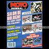 MOTO JOURNAL 871 ROYAL ENFIELD 350, SUPERCROSS PARIS-BERCY, SALON BOLOGNE 1988