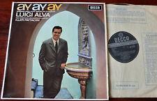 DECCA SXL 6106 WB LUIGI ALVA SPANISH LATIN AMERICAN SONGS LP PATTACINI NM- 1969