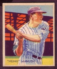 1935  DIAMOND STARS HEINIE MANUSH NO:30 EXMINT CONDITION