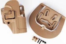 Airsoft g op cqc serpa pistol belt hard holster for 1911 tan sand uk