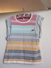 Multicoloured Stripe Knitted Boxfresh Top in Size XS / Size 4 - 6