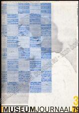 Museumjournaal serie 24. Nr. 3, mei 1979 - Gesprek met Albert van der Weide