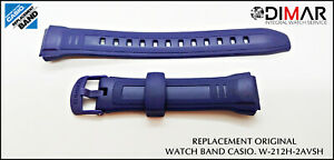 Replacement Original Watch Band Casio W-212H-2AVSH - W-212H-2AVH
