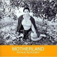 """NATALIE MERCHANT """"MOTHERLAND"""" CD NEU"""