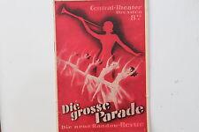 20189 central théâtre Dresde la grande parade randow revue 1935