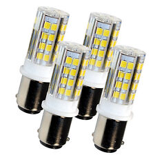 4x HQRP BA15d LED Bulb for Bernina 950, 1000, 1004, 1005, 1006, 1010, 1015