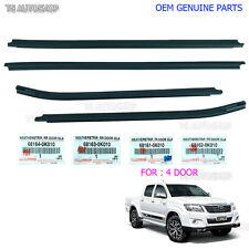 Weatherstrip Window Door Belt Moulding Seal For Toyota Hilux VIGO MK6 Genuine