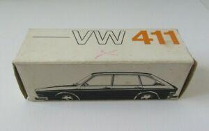 Vintage Volkswagen VW 411 Automobile Box