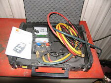 Testo 523 Gauge Hvac Digital Manifold Ac Amp Refrigeration