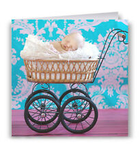 New Baby Greeting Card - Congratulations