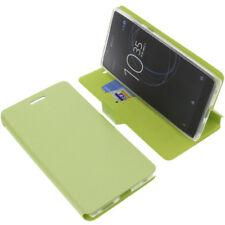 BORSA PER SONY XPERIA L1 stile libro custodia protettiva cellulare a verde