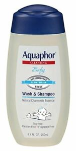 Aquaphor Baby Cleansing Wash and Shampoo 8.4 oz (9 Pack)