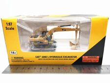 Norscot Caterpillar Cat 320D L Hydraulic Excavator Diecast Model 1:87