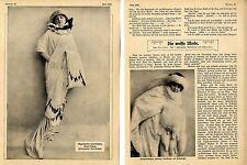 La moda blancos (lujo-pieles) Mode-foto-Report m. grabaciones de 1912