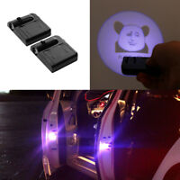2PCS Logo LED Door Courtesy Welcome Light Ghost Shadow Laser Projector