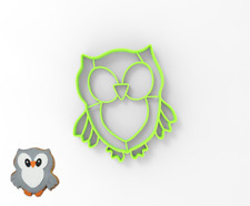 Owl Cookie and Fondant cutter 30145 ( Forest Friends double sided )