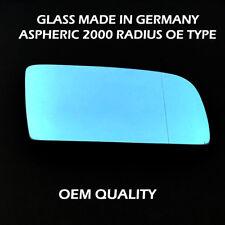 BMW SERIE 5 ALA SPECCHIO VETRO-blu tinti in, RH Riscaldato, Lato, 2003-2008