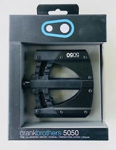 Crank Brothers 5050 Freeride Platform Pedal System, Black/Black
