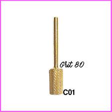 Punta per Fresa in Carbonio C01 ideale per Refill Ricostruzione Unghie e Acrilic