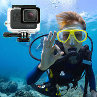 Clear Waterproof Underwater Diving Protective Housing Case Cover f. GoPro Hero 5