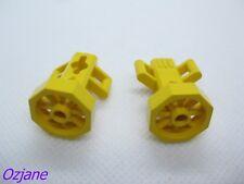 LEGO RICAMBI PARTI 30092 utensile da SCOOTER subacqueo giallo set di 2