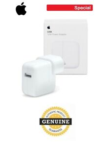Genuine 12W Apple Fast Charging Power Adapter for iPhone/iPad With Package