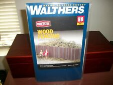 WALTHERS CORNERSTONE HO SCALE WOOD FENCING SECTIONS (933-3521)