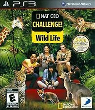 NAT GEO CHALLENGE! WILD LIFE PS3! TRIVIA, ANIMALS, PET, FAMILY GAME PARTY NIGHT!