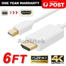 1.8m Mini Display Port DP to HDMI Cable for MacBook Pro Air Mac Thunderbolt