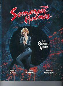 Somerset Holmes 1987 Eclipse-Bruce Jones-Brent Anderson 6.5 Fine+