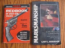 1968 REDBOOK of Used Gun Values + 1972 Marksmanship-NRA Official Shooting Guide