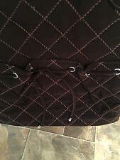Vera Bradley Handbag - Tie Front Tote RARE  - Expresso Microfiber - NWOT