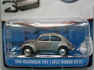 1940 Volkswagen Type 1 Split Window Beetle, pearl grey, Greenlight 1:64