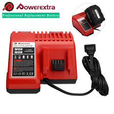 New For Milwaukee 48-11-15 48-59-1812 M18 M14 18V Red Li-Ion Battery Charger