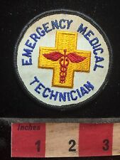 Rod of Caduceus EMERGENCY MEDICAL TECHNICIAN Patch - Medical Field Related 77G
