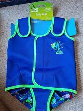 Zoggs Kinder One Piece RIEMCHENVERSCHLUSS Schwimm Paddle Anzug Baby Wrap